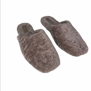 Vince Caela Genuine Shearling Slippers